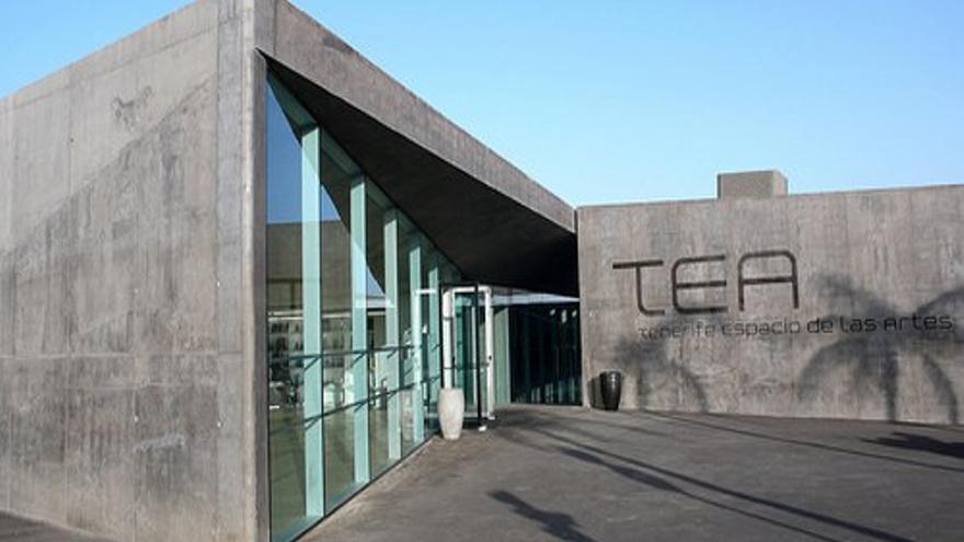 Entrada principal de TEA, en Santa Cruz
