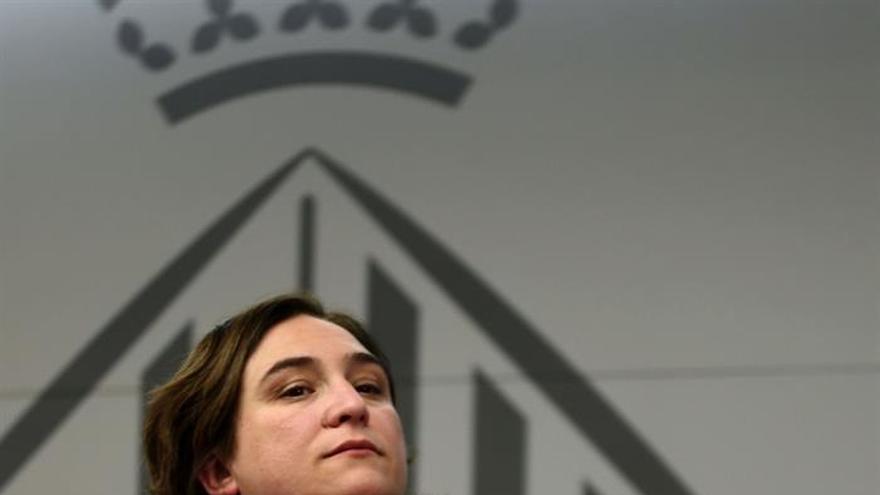 """Ada Colau calificó de """"freno"""" a los ayuntamientos los planes de Cristóbal Montoro"""