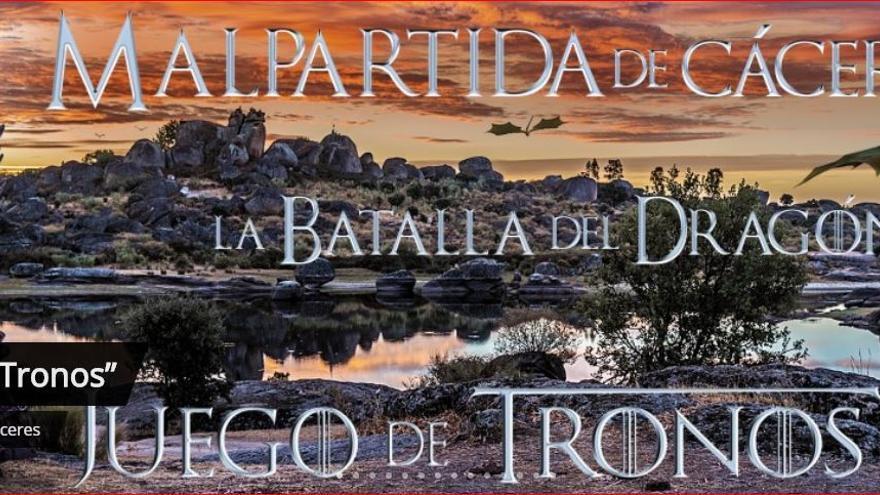 Malpartida Cáceres Juego Tronos ruta