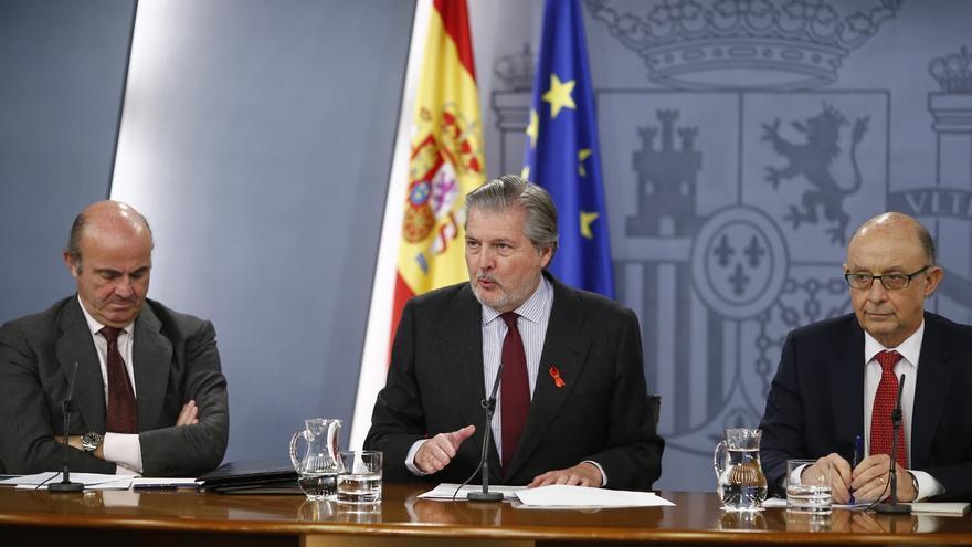 """El Gobierno ve """"preferible"""" buscar el apoyo del PSOE, que suma """"con holgura"""" con el PP, y no el """"voto marginal"""""""