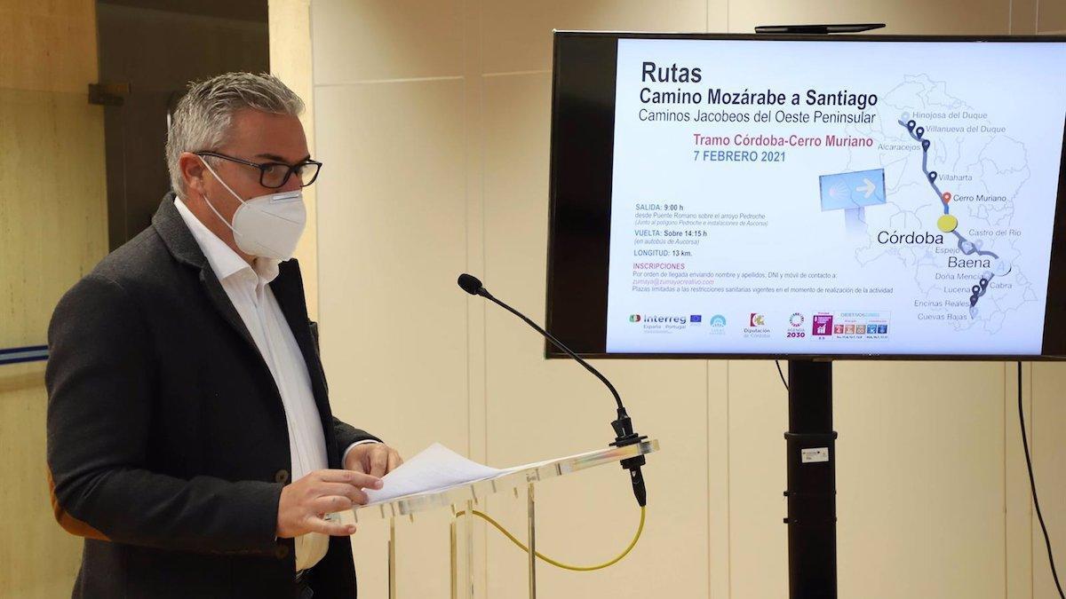 El delegado de Programas Europeos de la Diputación de Córdoba, Víctor Montoro.