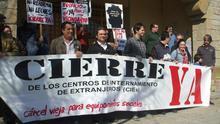 Cinco personas inmigrantes siguen retenidas en el CIE de Algeciras mientras que el anexo de Tarifa está vacío