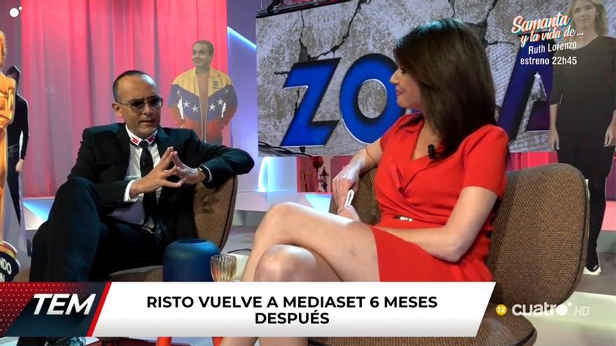 Risto Mejide y Marta Flich en 'Todo es mentira'