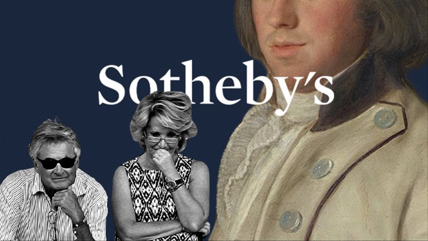 The shadows of Sotheby's, the company that intervened in the sale of Aguirre and her husband's Goya