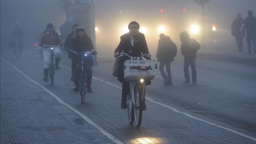 Amsterdam quiere que sea obligatorio llevar casco en bicicleta por la ciudad