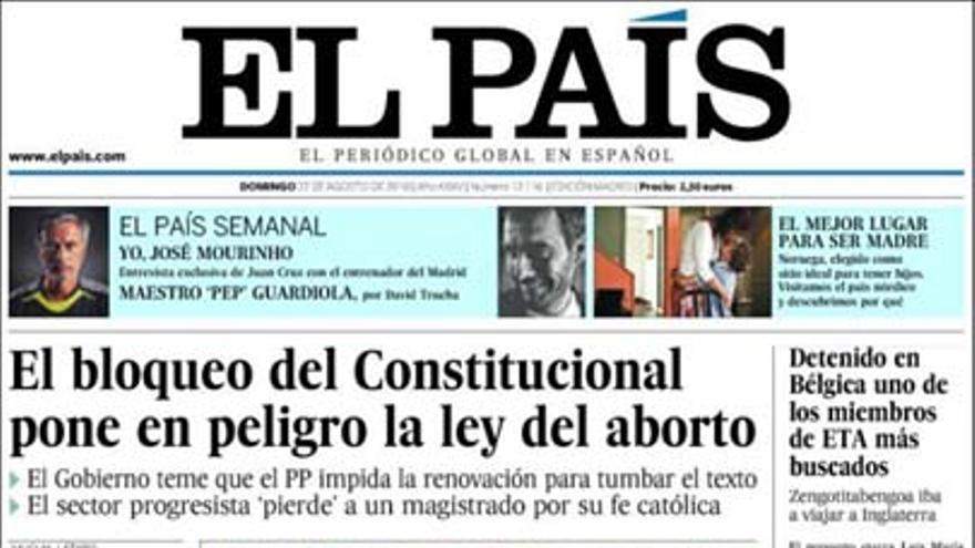 De las portadas del día (22/08/2010) #5