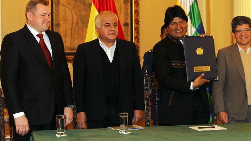 Rusia entra con fuerza en el sector de los hidrocarburos en Bolivia