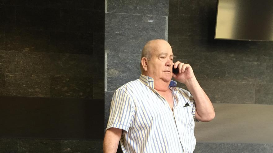 El empresario Ambrosio Jiménez, promotor del centro comercial El Trompo