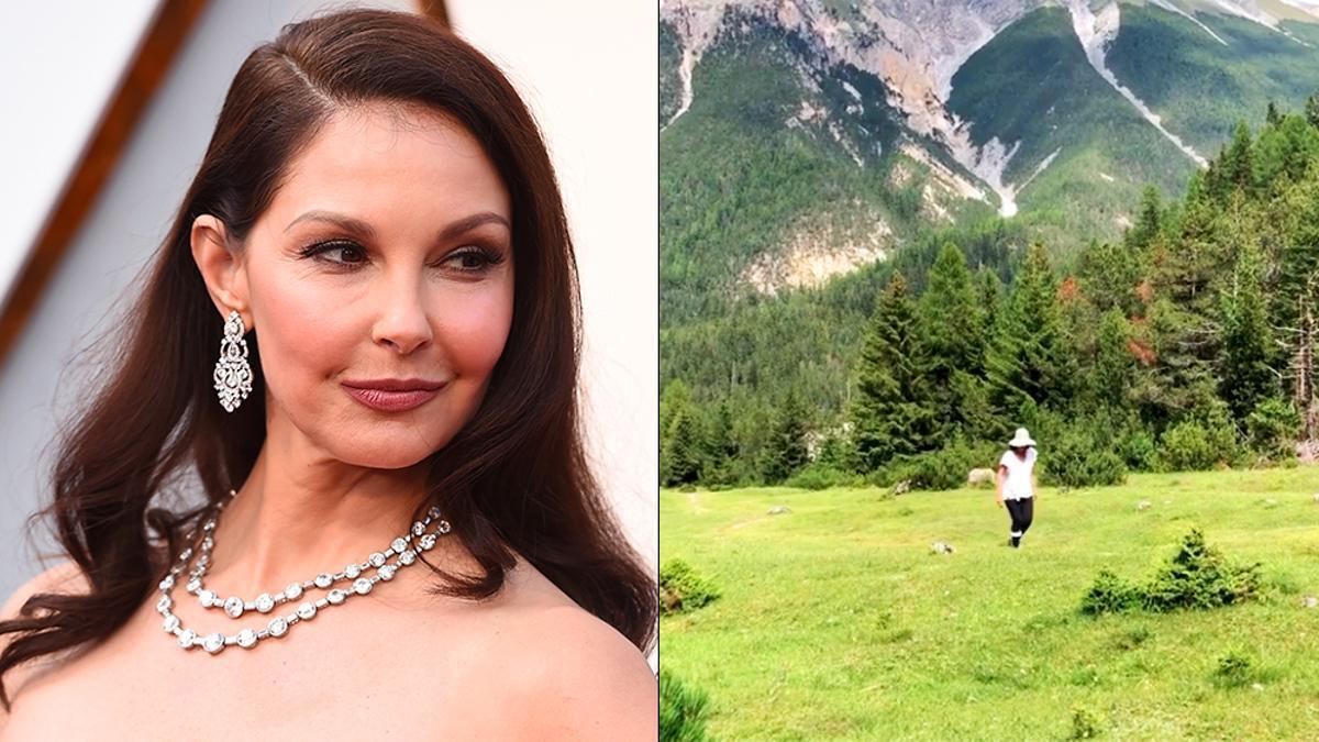 La actriz Ashley Judd