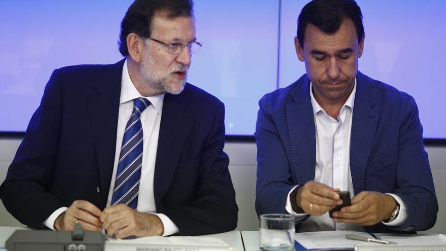 """Maíllo (PP), convencido de que Rajoy hablará """"al conjunto de los españoles"""""""