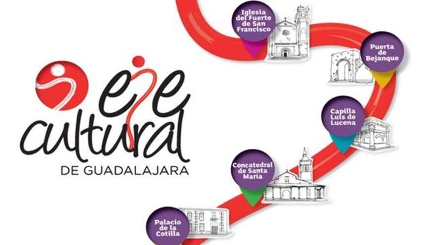 Publicidad del Eje Cultural de Guadalajara