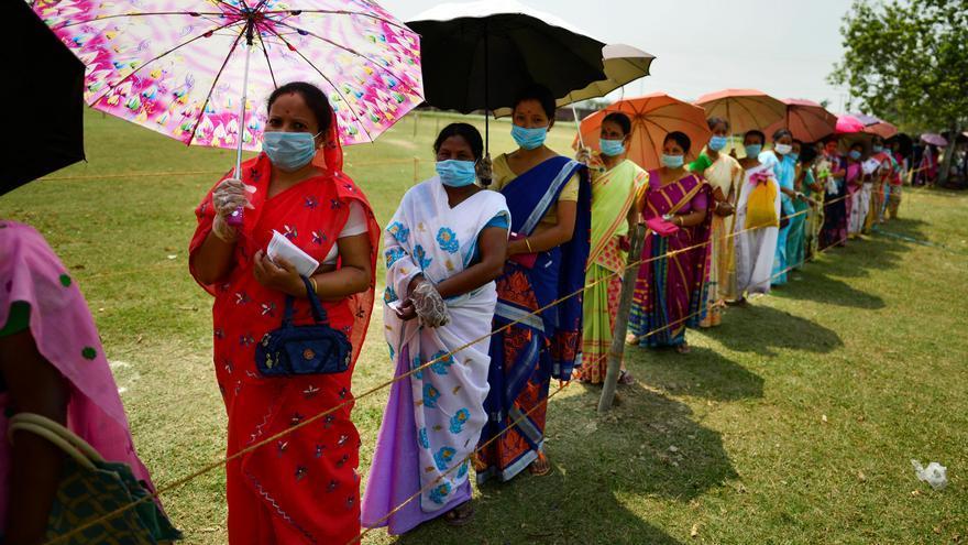 India comienza un importante ciclo electoral en plena segunda ola de covid-19