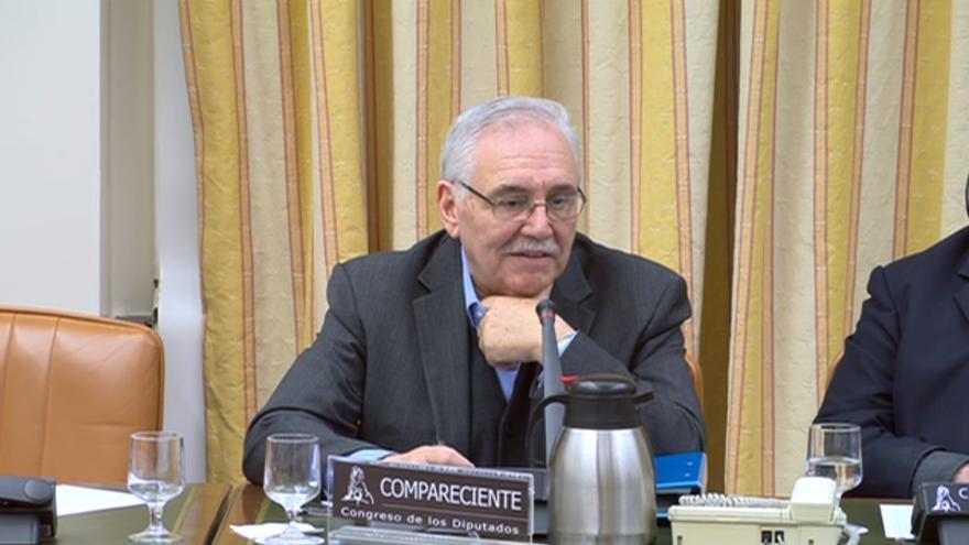 Teófilo Serrano, expresidente de Renfe con el PSOE