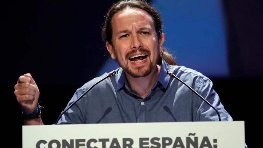 Iglesias supedita el cese de Fachin al resultado de la consulta en Podem