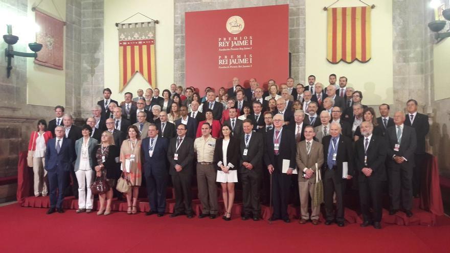 Jurado de los Premios Jaume I en Valencia