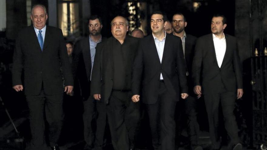 El viceprimer ministro griego pide unidad en Syriza para fortalecer al Gobierno