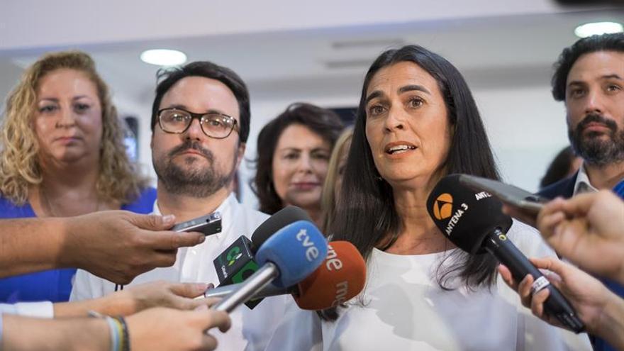 La candidata del PP al Congreso por Las Palmas, María del Carmen Hernández Bento. EFE/Ángel Medina G.