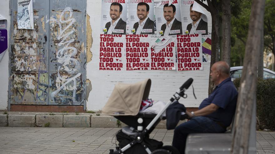 Varios partidos se comprometen ante notario a renunciar a colgar banderolas y carteles electorales