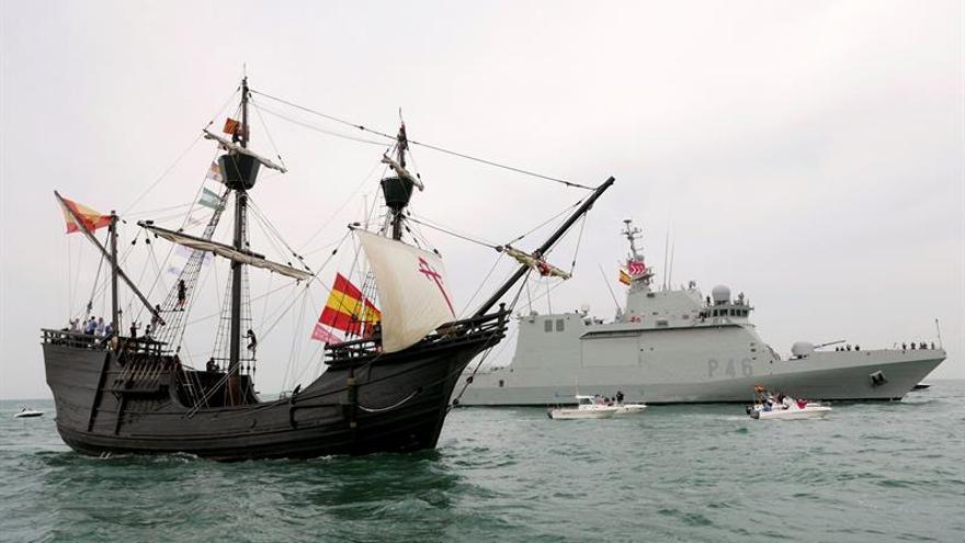 El Pros reproduce, cinco siglos después, la hazaña que comenzaron Magallanes y Elcano