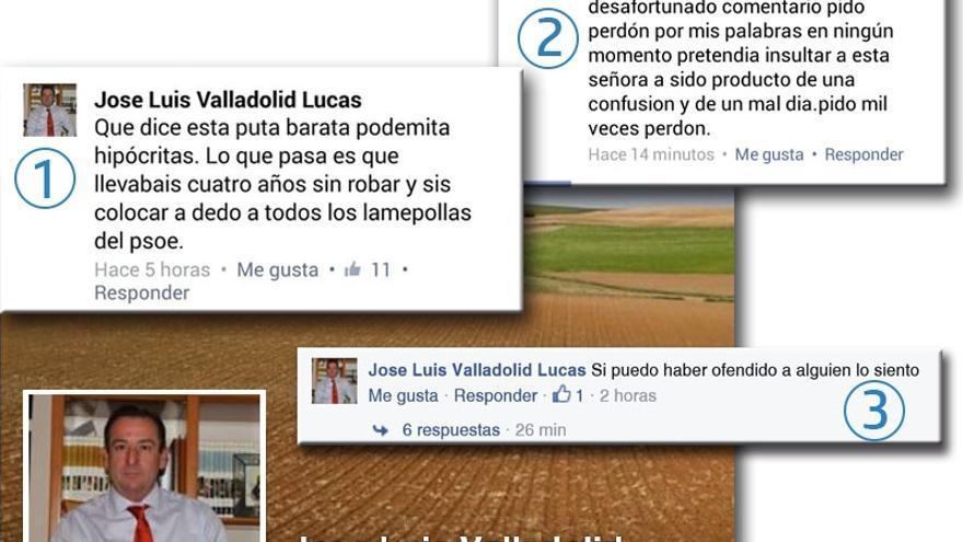 Comentarios del alcalde de Villares de Saz en Facebook. Foto: Las Noticias de Cuenca.