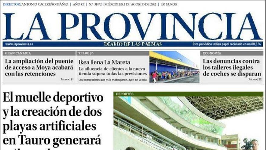 De las portadas del día (01/08/2012) #1