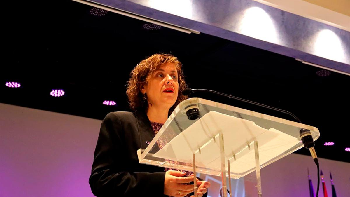 La delegada de Igualdad de la Diputación, Alba Doblas.