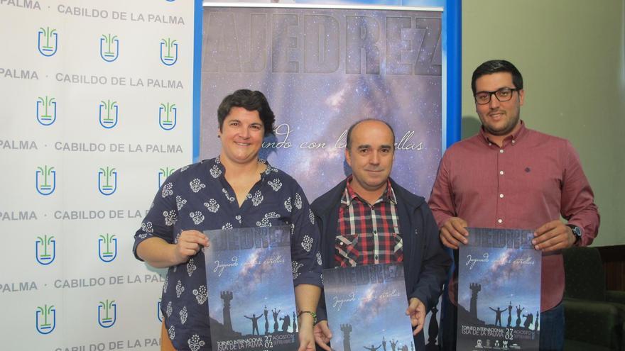 De izquierda a derecha: Ascensión Rodríguez, José Carlos Martín y Raico Arrocha.