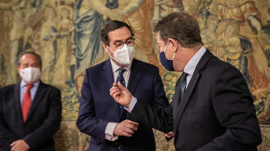 """Page reclama al Gobierno de España dar """"preferencia"""" a los proyectos de la iniciativa privada en el reparto de los fondos de recuperación"""