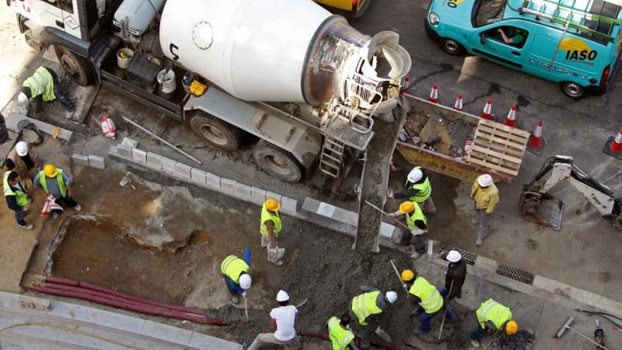 El consumo de cemento baja un 2,9 en junio, la primera caída desde noviembre