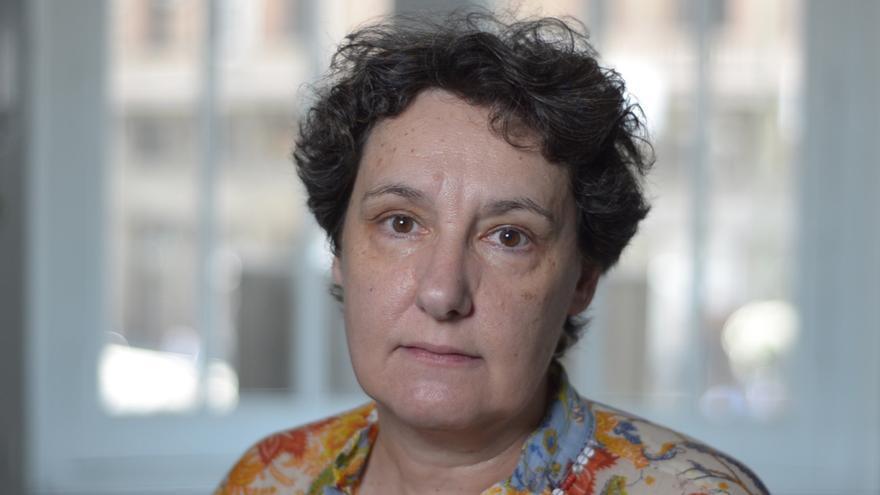 Beatriz Gimeno, diputada de Podemos en la Asamblea de Madrid