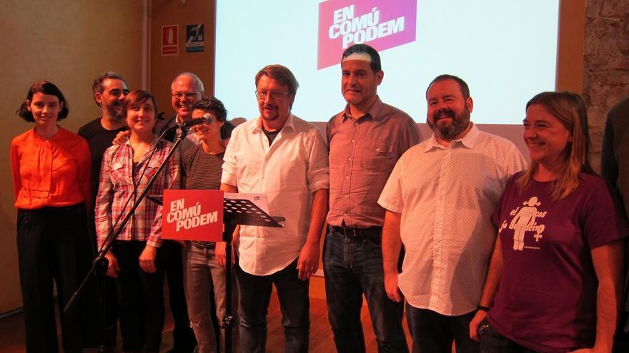 """Domènech (ECP) pide a Puigdemont concreción en su referéndum para que no sea """"un 9N"""""""