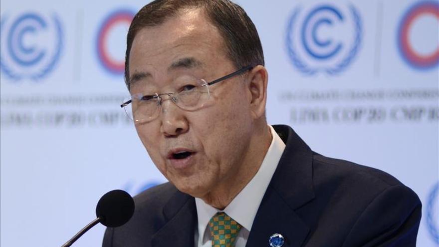 Ban Ki-moon insiste en que la solución en Siria no puede depender del destino de Asad