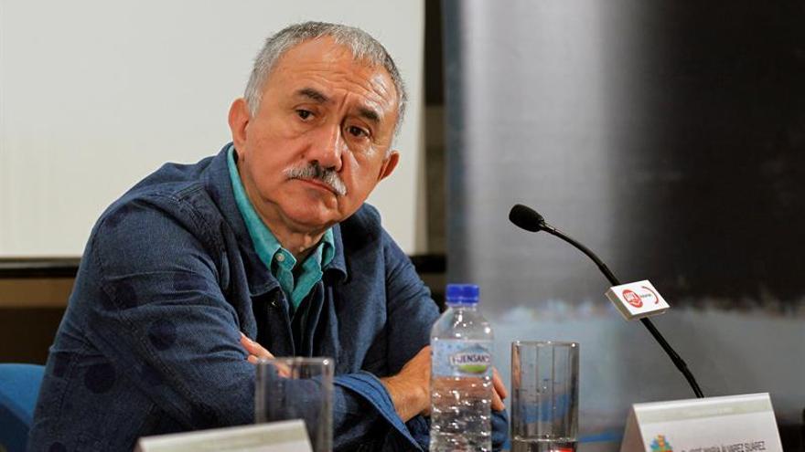 Álvarez (UGT): la situación de desempleo reviste signos de gravedad permanente