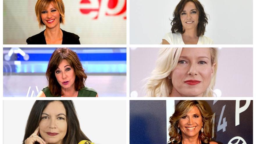 Susana Grisso, Ana Rosa Quintana, Pepa Bueno, Angels Barceló, Julia Otero e Anne Igartiburu deciden sumarse a la huelga.