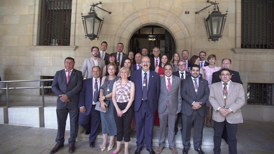 Los 25 diputados de la Diputación Provincial de Teruel
