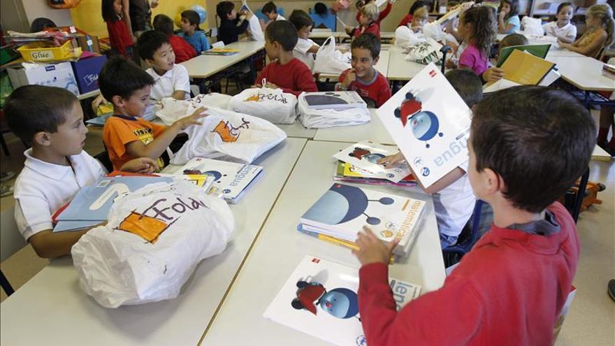 Sube un 5,4 por ciento el alumnado con necesidad específica que recibe apoyo educativo