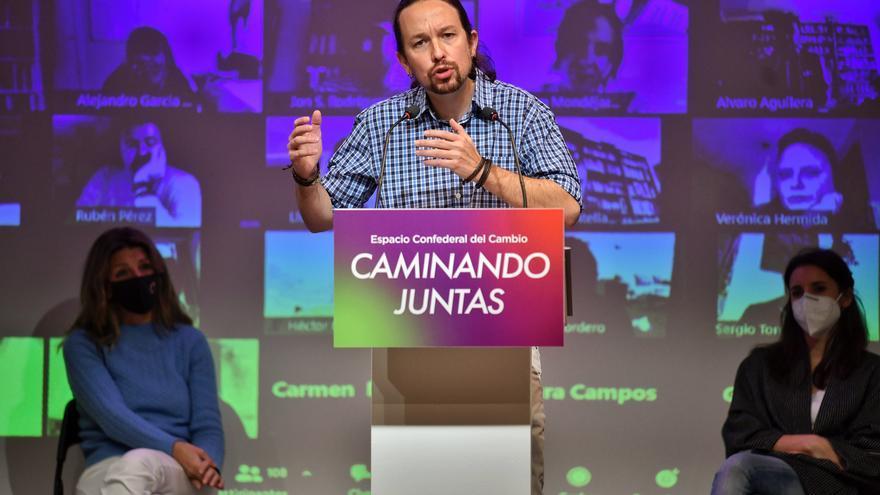 """Pablo Iglesias defiende la participación de Unidas Podemos, ERC y Bildu en la gobernabilidad: """"El Estado es de todos"""""""
