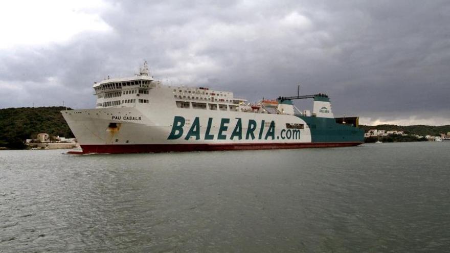 Baleària incorpora en la ruta con Menorca dos buques ecoeficientes