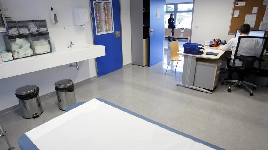 Consulta en un centro de salud gallego