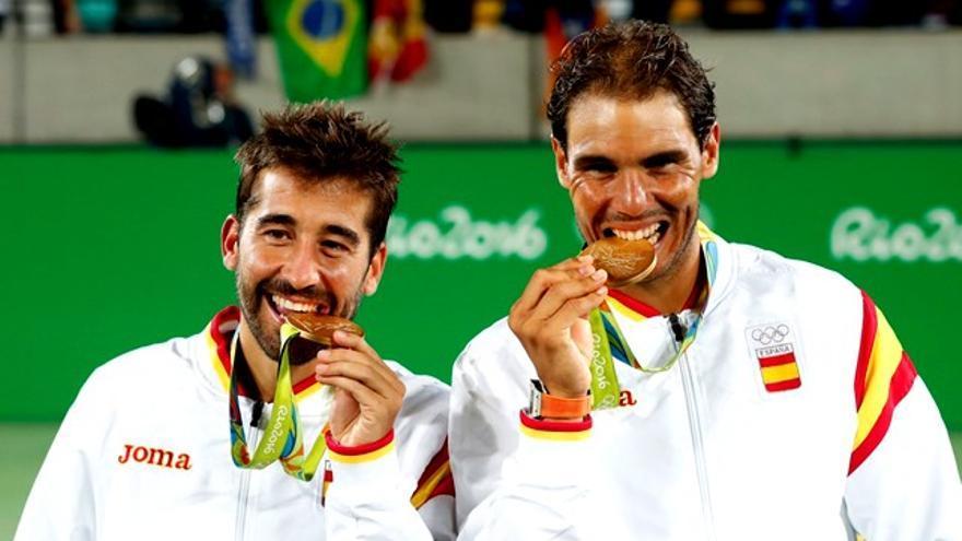 Nadal y Marc López, de oro ante 21.5% y 1,3 millones de españoles 'desvelados'