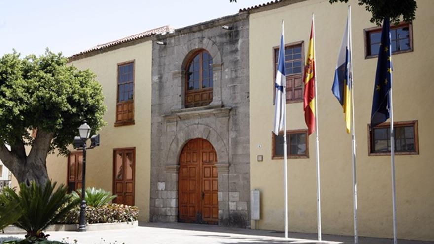 Casas consistoriales de Güímar, en una imagen de archivo