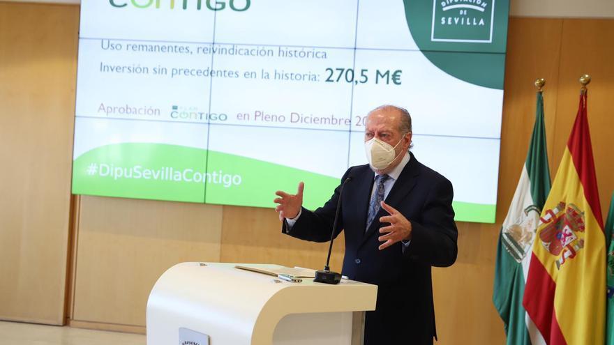 'Plan Contigo', 211 millones para los cuatro puntos cardinales de la provincia de Sevilla
