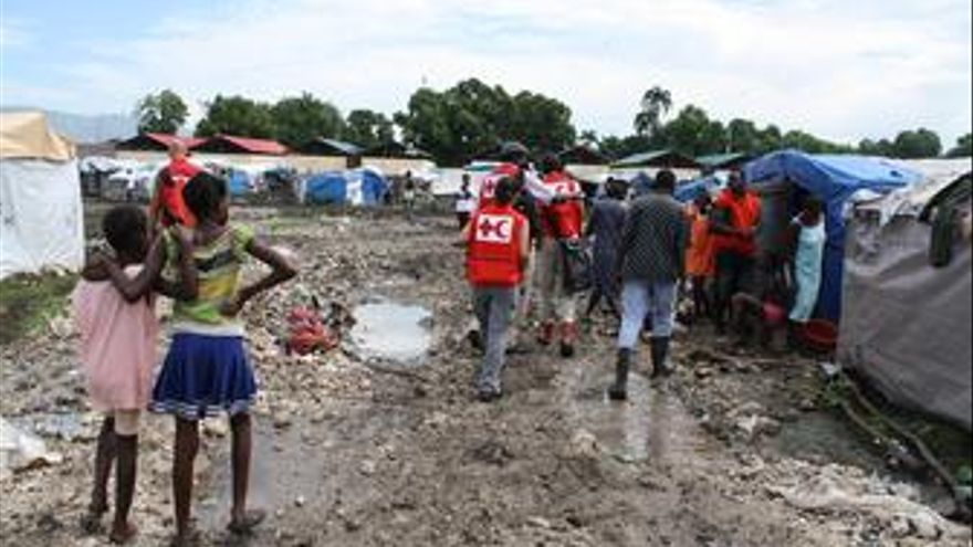 Ayuda de Cruz Roja ante el brote de cólera en Haití