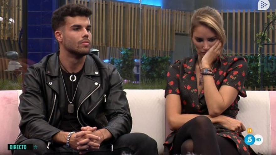 'GH VIP 7' perdona a Alba Carrillo y expulsa a Pol Badía
