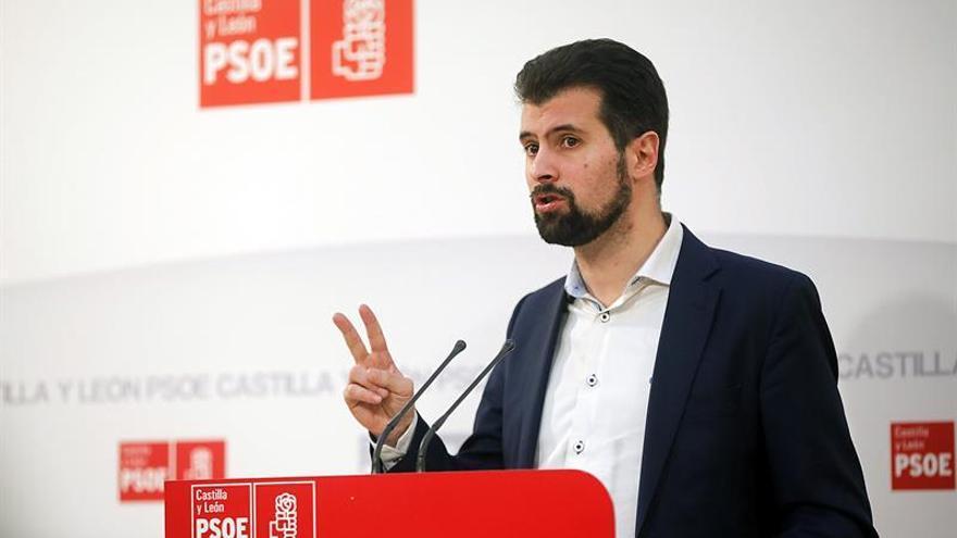 Tudanca avala el paso dado por Patxi López pero anima a Sánchez a presentarse