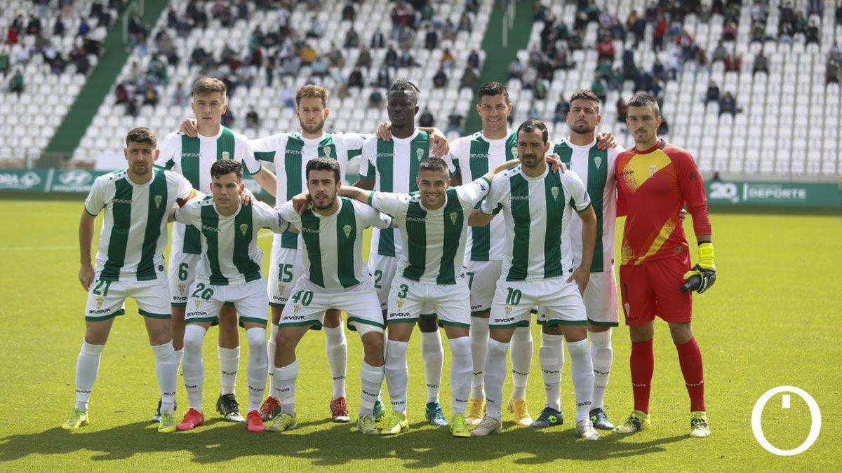 Último once del Córdoba en la temporada 2020-21