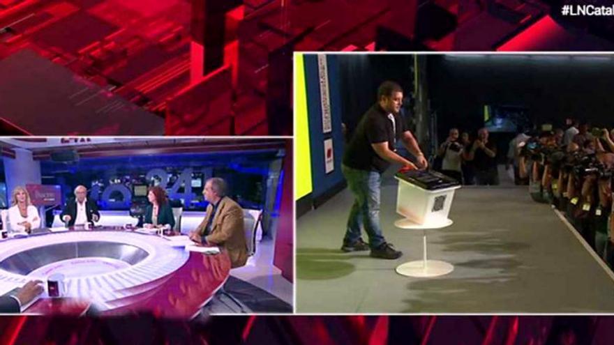 La Noche en 24H sobre el referéndum catalán