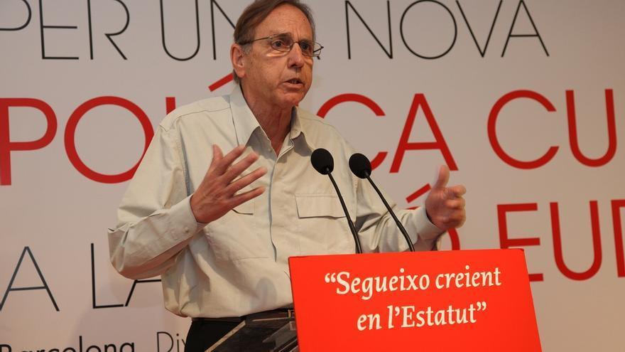 """El exprimer secretario del PSC Raimon Obiols cree que la situación del PSOE es el """"reflejo del problema de España"""""""