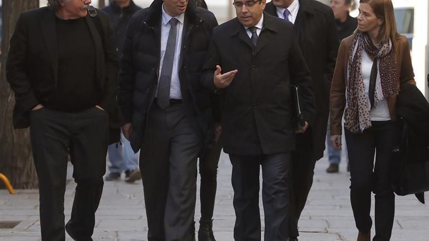 Los viajes del Govern para acompañar a Homs ante el Supremo costaron 13.470 euros