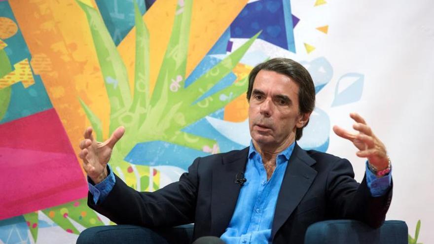 """Aznar ve en Cs un """"serio aspirante"""" a gobernar y ocupar el espacio del PP"""